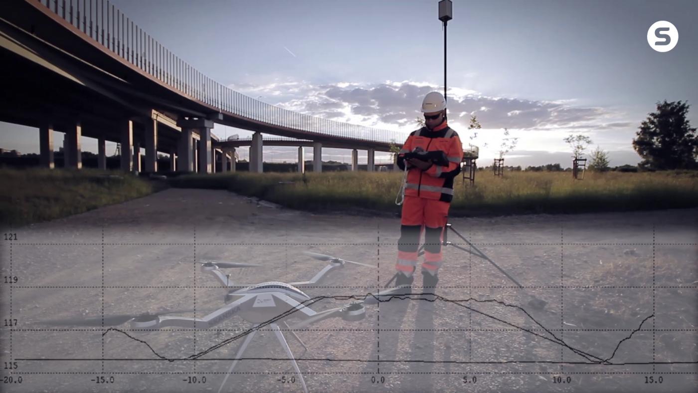 skanksa budownictwo drony obliczenia mas ziemnych