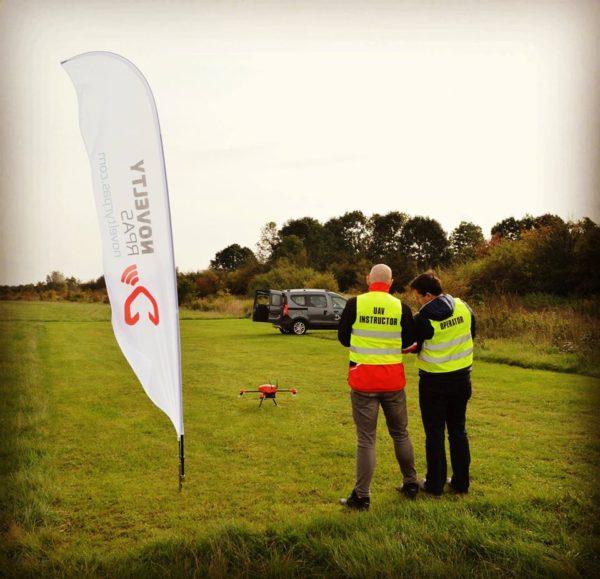 Szkolenia i konsultacje drony